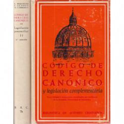 CODIGO DE DERECHO CANÓNICO (Bilingüe) y Legislación Complementaria. Texto Latino y Versión Castellana con Jurisprudencia y Comen