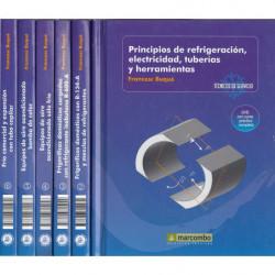 COLECCIÓN TÉCNICOS DE SEVICIO Aire Acondicionado INCLUYE DVD POR VOL.