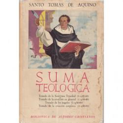 SUMA TEOLÓGICA Tomos II y III en un unico TOMO