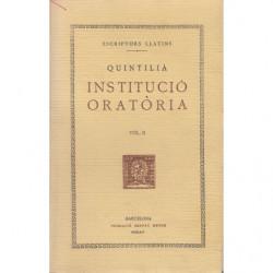 INSTITUCIÓ ORATÒRIA II