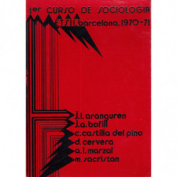 1eR CURSO DE SOCIOLOGÍA. eTs II. Barcelona. 1970-1971