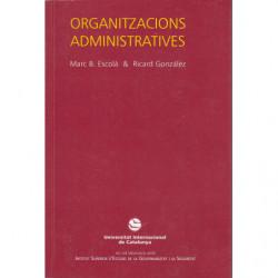 ORGANITZACIONS ADMINISTRATIVAS
