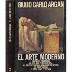 EL ARTE MODERNO (1770-1970) 2 Tomos OBRA COMPLETA