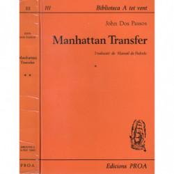 MANGATTAN TRANSFER 2 Vols. OBRA COMPLETA