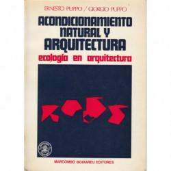 ACONDICIONAMIENTO NATURAL Y ARQUITETURA. Ecología de la Arquitectura