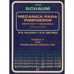 MECÁNICA PARA INGENIEROS. ESTÁTICA Y DINÁMICA Serie de Comopendios Schaum TEORÍA Y 460 PROBLEMAS RESUELTOS