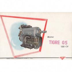 MOTOR -TEGRE G5- 150 CV