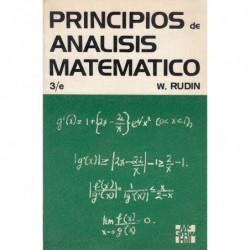 PRINCIPIOS DE ANÁLISIS MATEMÁTICO