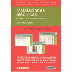 INSTALACIONES ELÉCTRICAS de Acuerdo con el REBT del RD 842/2002