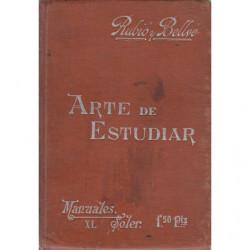 ARTE DE ESTUDIAR