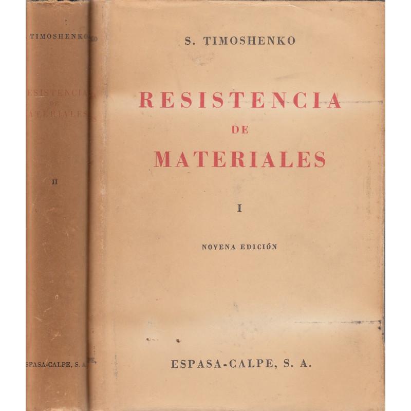 RESISTENCIA DE MATERIALES 2 Tomos OBRA COMPLETA