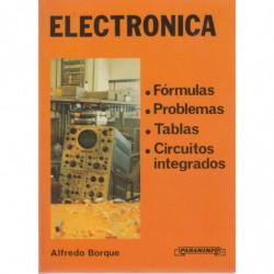 ELECTRÓNICA Formulas - Problemas - Tablas - Circuitos Integrados