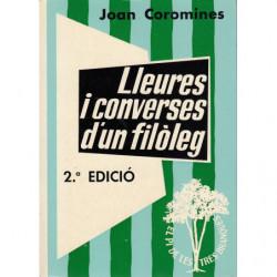 LLEURES I CONVERSES D'UN FILÒLEG Volums II-III