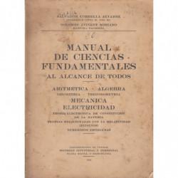 MANUAL DE CIENCIAS AL ALCANCE DE TODOS
