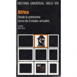 AFRICA Desde la Prehistoria Hasta los Estados Actuales