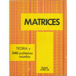 MATRICES Serie de Compendios Schaum TEORIA Y 340 PROBLEMAS RESUELTOS