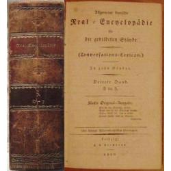 Allgemeine Deutsche Real-Encyclopädie für die gebildeten Stände. (Conversations-Lexicon).  In zehn Bänden