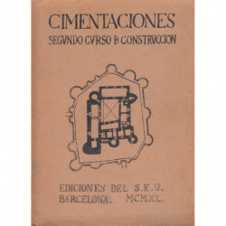 CIMENTACIÓN. Construcción II (Segundo Curso de Construcción)