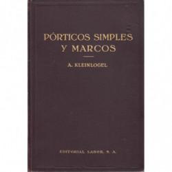 PÓRTICOS SIMPLES Y MARCOS