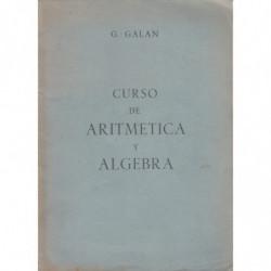 Matematicas Elementales. Curso de ARITMÉTICA Y ÁLGEBRA