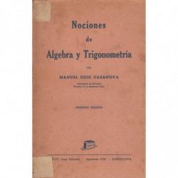 NOCIONES DE ÁLGEBRA Y TRIGONOMETRÍA