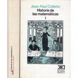 HISTORIAS DE MATEMÁTICAS 2 Tomos OBRA COMPLETA