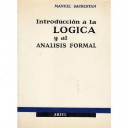 INTRODUCCIÓN A LA LÓGICA Y AL ANÁLISIS FORMAL
