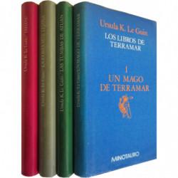 LOS LIBROS DE TERRAMAR 4 TOMOS OBRA COMPLETA