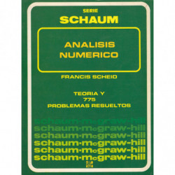 ANÁLISIS NÚMERICO Serie de Compendios Schaum TEORÍA y 775 PROBLEMAS RESUELTOS