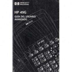 GUÍA DEL USUARIO AVANZADO de la Calculadora con Graficos Hewlett Packard Mod. HP 49G.