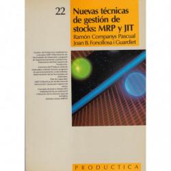 NUEVAS TÉCNICAS DE GESTIÓN DE STOCKS: MRP y JIT