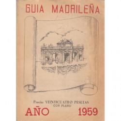 GUIA MADRILEÑA 1959