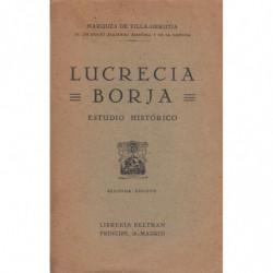 LUCRECIA BORJA Estudio Historico