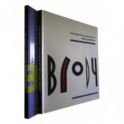 BRODY. The Graphic Language of Neville Brody OBRA COMPLETA en 2 Tomos