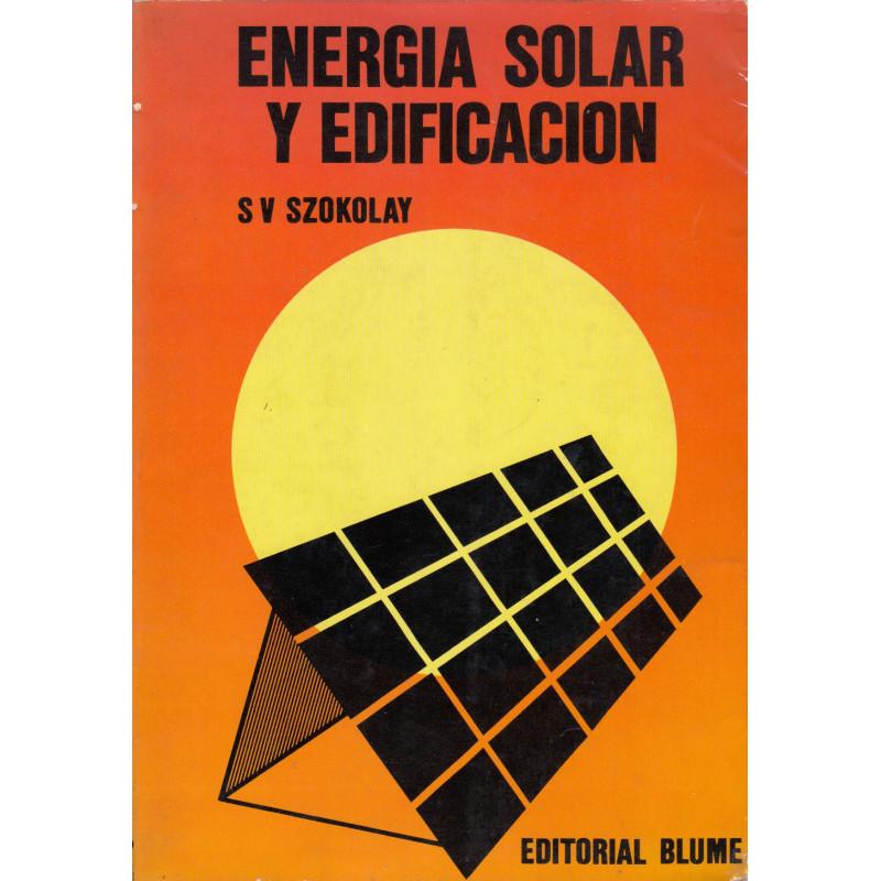 ENERGIA SOLAR Y EDIFICACIÓN