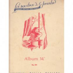 COLECCIÓN MAESTROS DE LA JUVENTUD / Album 14º, Piezas Faciles para Piano