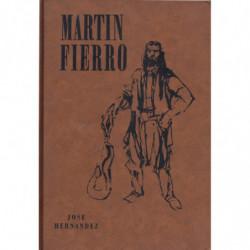 MARTIN FIERRO. Edición crítica de Angel J. Battistessa con  Ilustraciones de Alberto Güiraldes