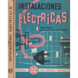 INSTALACIONES ELECTRICAS 2 Tomos OBRA COMPLETA