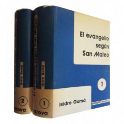 EL EVANGELIO SEGÚN SAN MATEO 2 Tomos OBRA COMPLETA. Vol. I (1-13) y Vol. II (14-28)