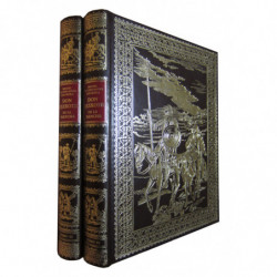 EL INGENIOSO HIDALGO DON QUIXOTE DE LA MANCHA  Edición Facsimilar SEGUNDA PARTE Completa (Tomos III y IV)