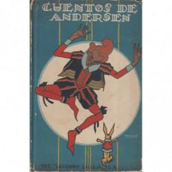 CUENTOS DE ANDERSEN. Biblioteca Perla de Saturnino. Primer Tomo Original, Primera Serie