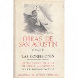 OBRAS DE SAN AGUSTIN Tomo II LAS CONFESIONES. Texto Castellano y Latino