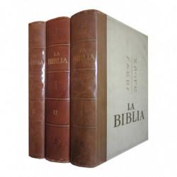 LA BIBLIA 3 Tomos OBRA COMPLETA