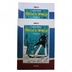 CORTO MALTÉS. FÁBULA DE VENECIA (2 tomos: Primera y Segunda Parte) Historia Completa.