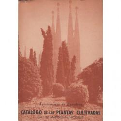 CATALOGO DE LAS PLANTAS CULTIVADAS EN LOS JARDINES MUNICIPALES