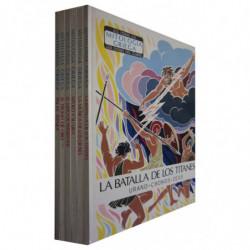 LOS DIOSES DEL OLIMPO 6 Volumenes COLECCIÓN COMPLETA