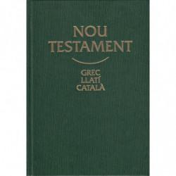 NOU TESTAMENT Trillingüe: GREC-LLATÍ-CATALÀ
