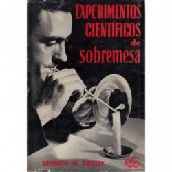 EXPERIMENTOS CIENTIFICOS DE SOBREMESA