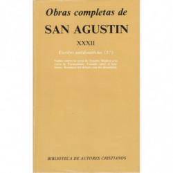 ESCRITOS ANTIDONATISTAS (Iº). OBRAS COMPLETAS DE SAN AGUSTIN  Tomo XXXII