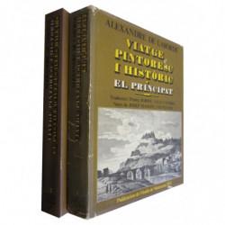 VIATGE PINTORESC I HISTORIC (2 vols, OBRA COMPLETA dins la Sèrie Il-lustrada). Vol.1  EL PRINCIPAT y Vol.2  EL PAIS VALENCIÀ I L